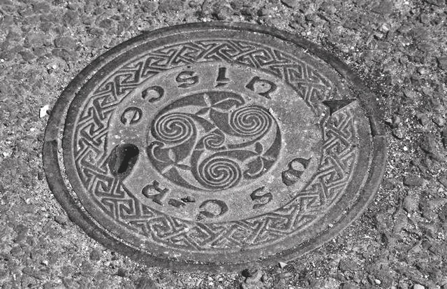 Manhole cover, Galway