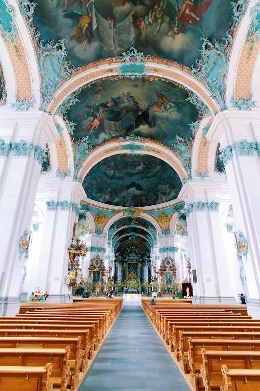 St. Gallen Cathedral, St. Gallen, Switzerland