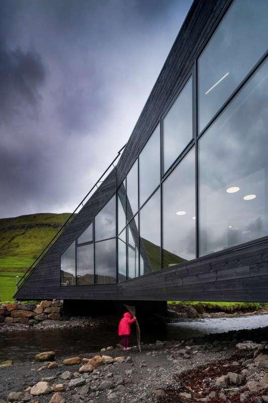 Eysturkommuna Town Hall, Henning Larsen Architects