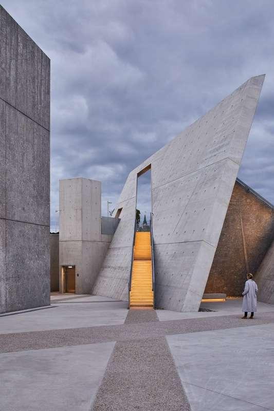 National Holocaust Monument, Libeskind