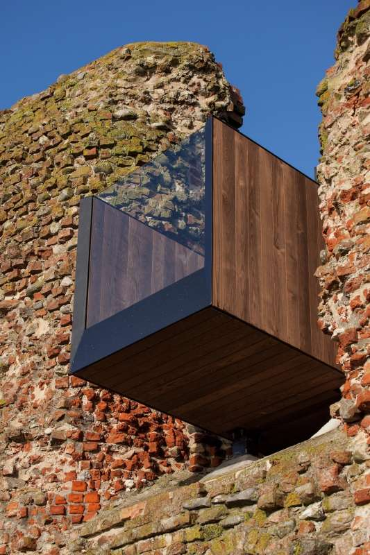 Kalø Tower Visitor Access, MAP Architects & MAST Studio