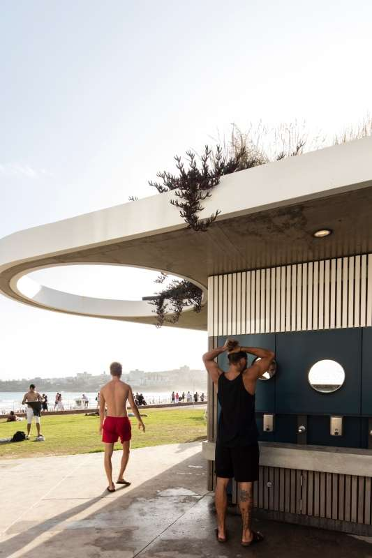 North Bondi Amenities Building, Sam Crawford Architects