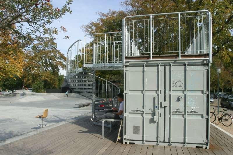SNE Architecs Skatepark