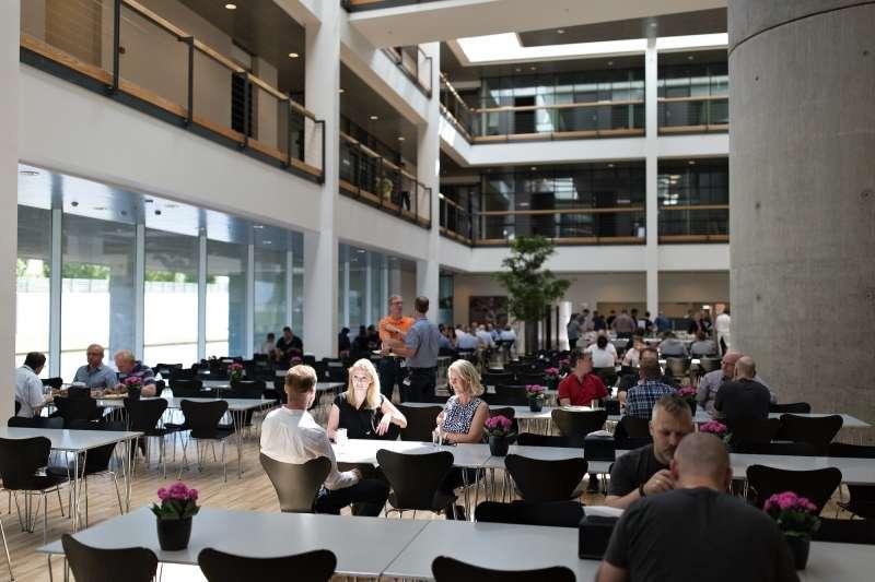 CCI Europe A/S, Arkitektgruppen Aarhus