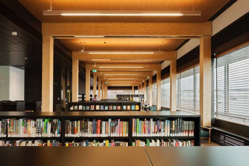 The Library at the Dock performs a vital civic function in the growing Docklands district.