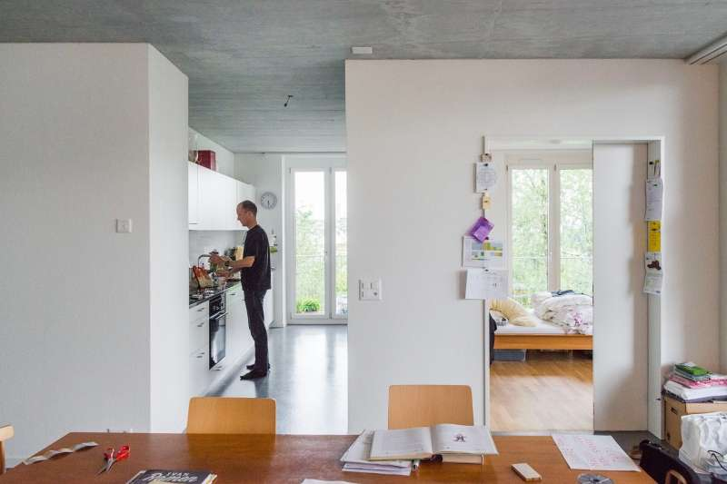 Duplex Architekten's House M also provides residents with highly livable spaces.