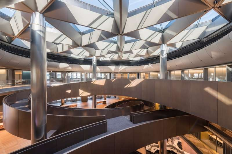 Bloomberg's New European HQ, Foster + Partners