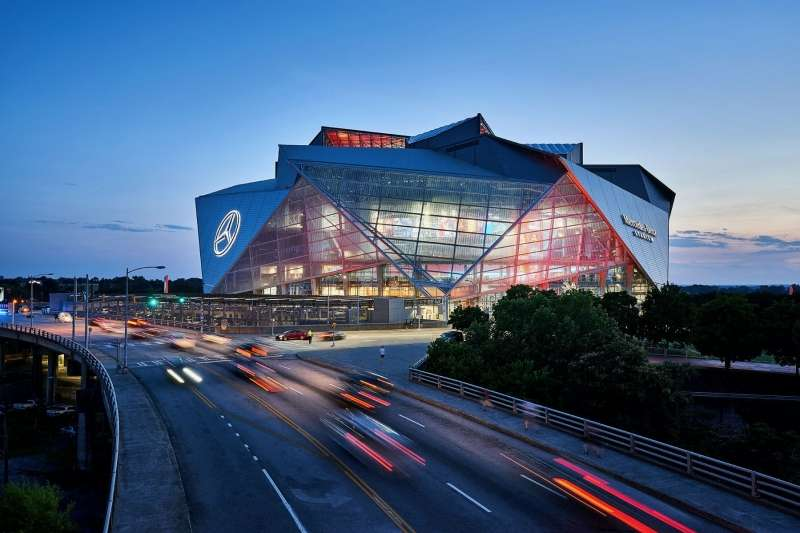 Mercedes Benz Stadium, HOK