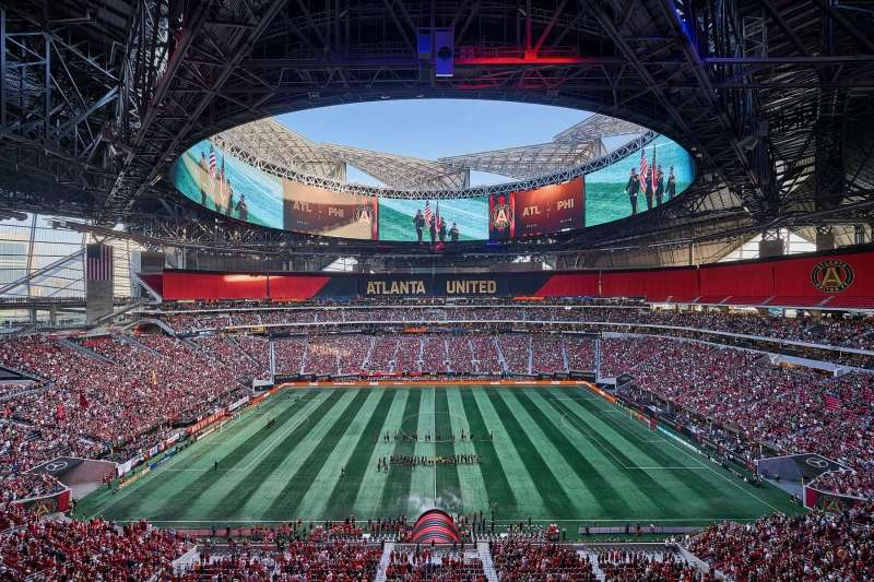 Mercedes Benz Stadium, HOK