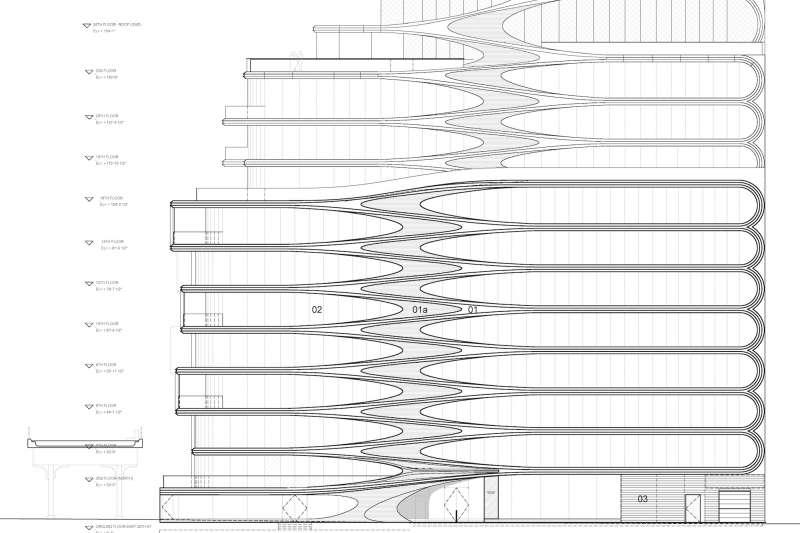 520 West 28th St, Zaha Hadid Architects