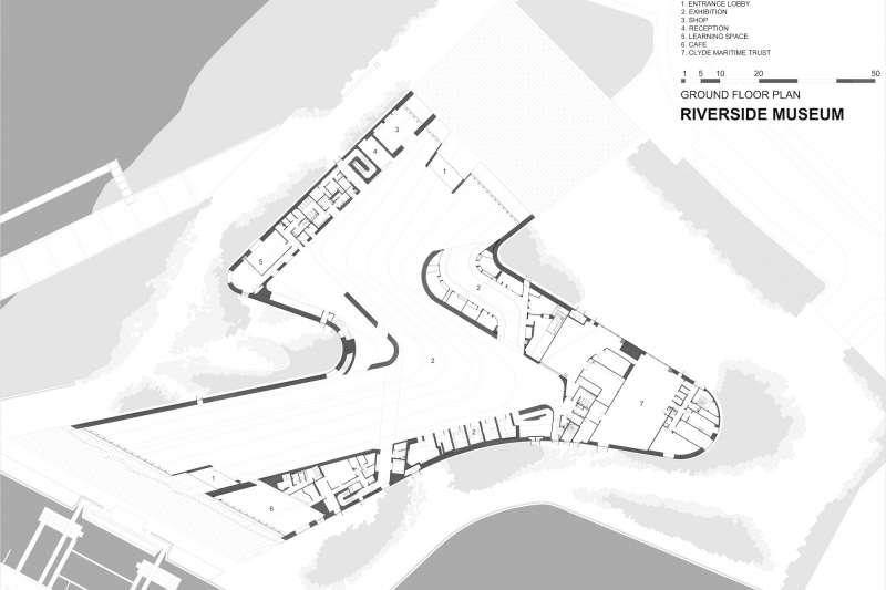 Riverside Museum, Zaha Hadid Architects