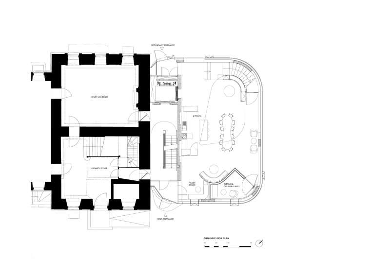 Maggie's Center Barts, Steven Holl Architects