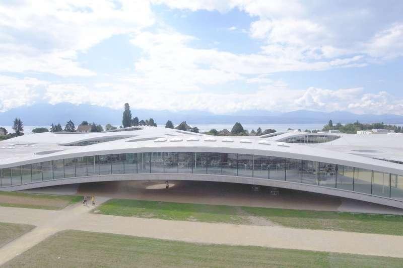 Rolex Learning Center, SANAA