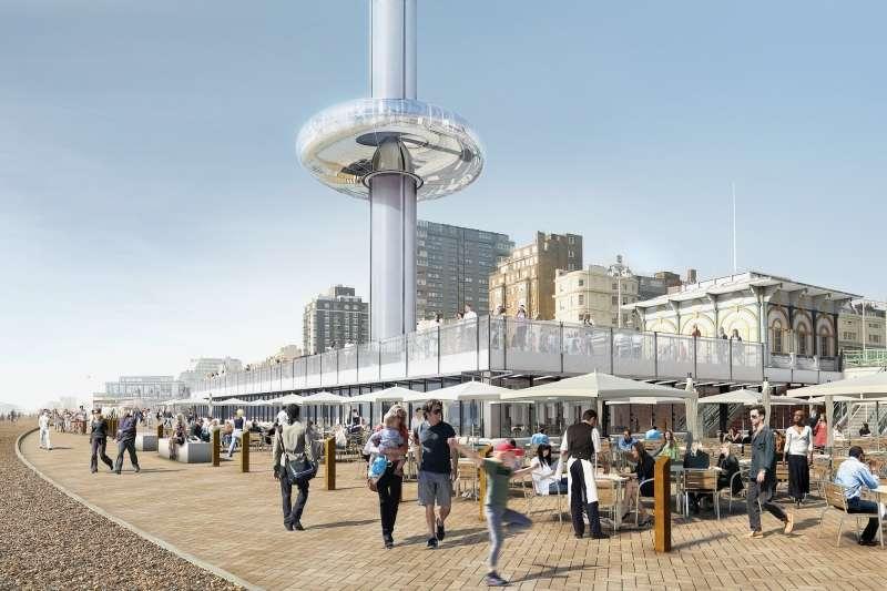 British Airways i360, Marks Barfield Architects