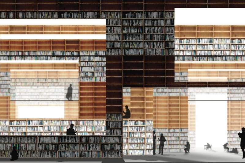 Musashino Art University Library, Sou Fujimoto Architects