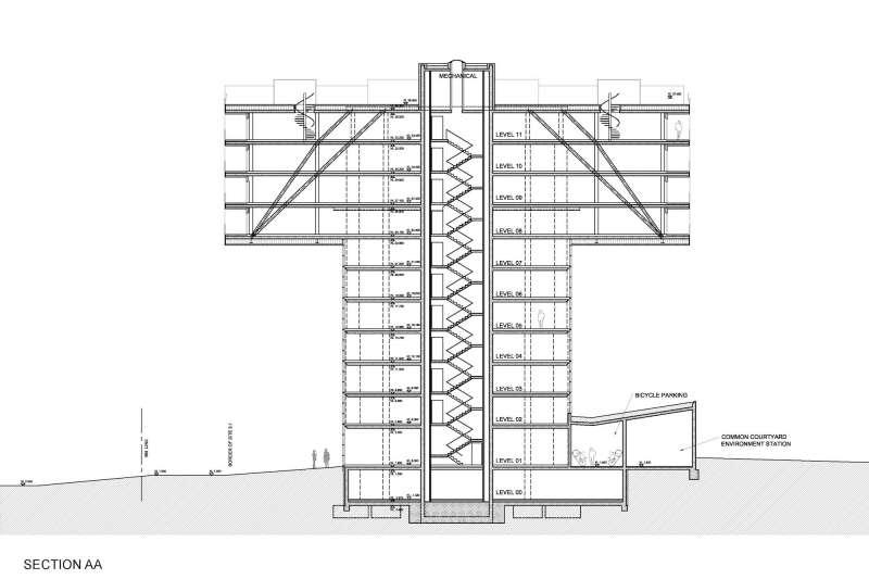 T-Husene, Steven Holl Architects