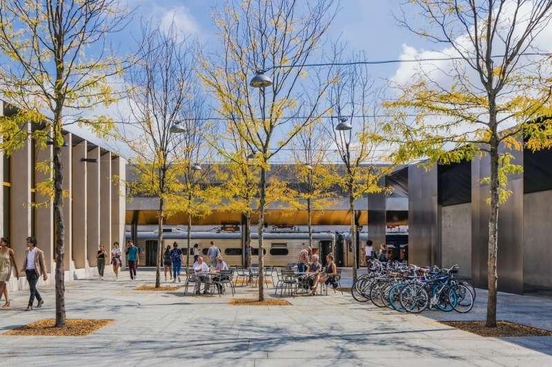 Princeton Transit Hall & Market, Studio Rick Joy