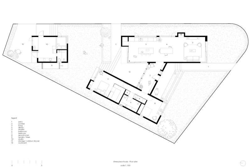 Three Piece House, TRIAS