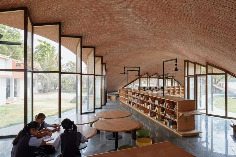 Maya Somaiya Library, sP+a
