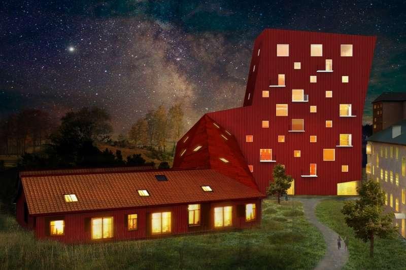 Putsegården, what! arkitektur