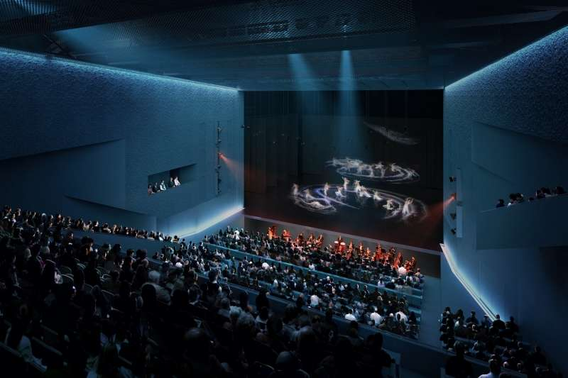 Taipei Performing Arts Center, OMA