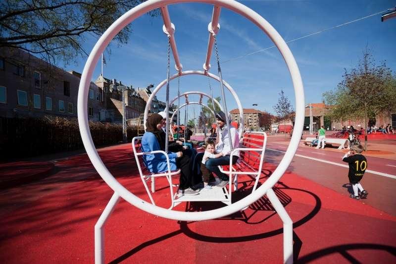 Swing bench, Baghdad